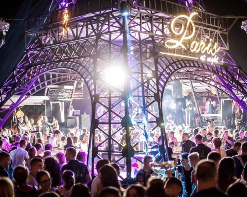 Paris night club Budva