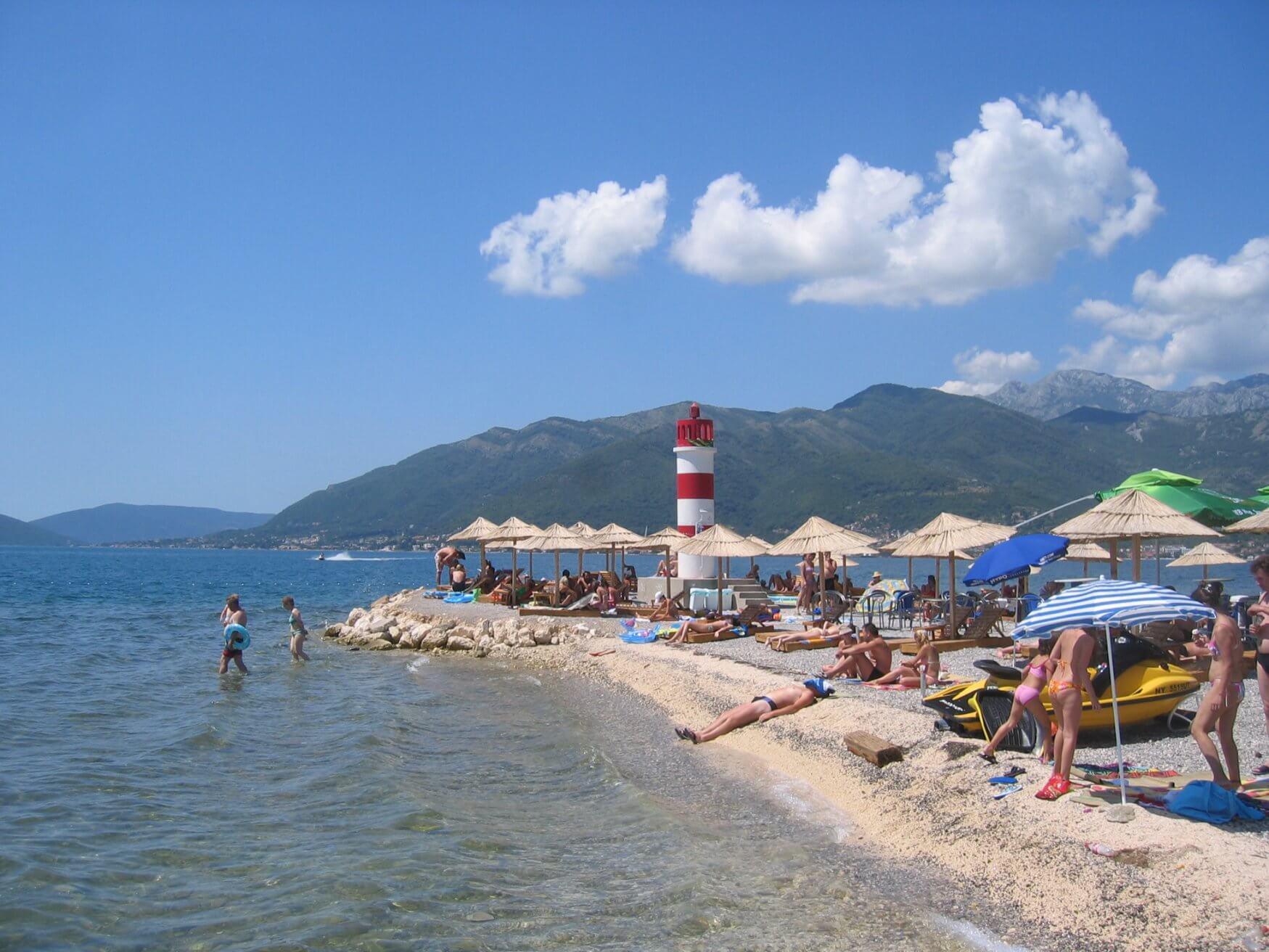 Tivat plajları 2